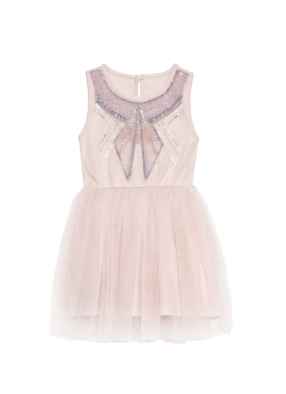 TUTU DU MONDE - Little Miss Violet Tutu Dress / Lychee
