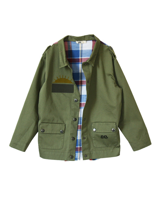 BANDY BUTTON - Trip Jacket (LAST ONE 4/5Y)