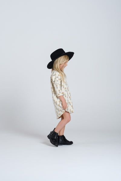 RYLEE + CRU - Flower Slouch Dress / Vanilla