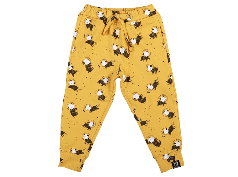 KUKUKID - Pocket Pants / Mustard Layka Dog