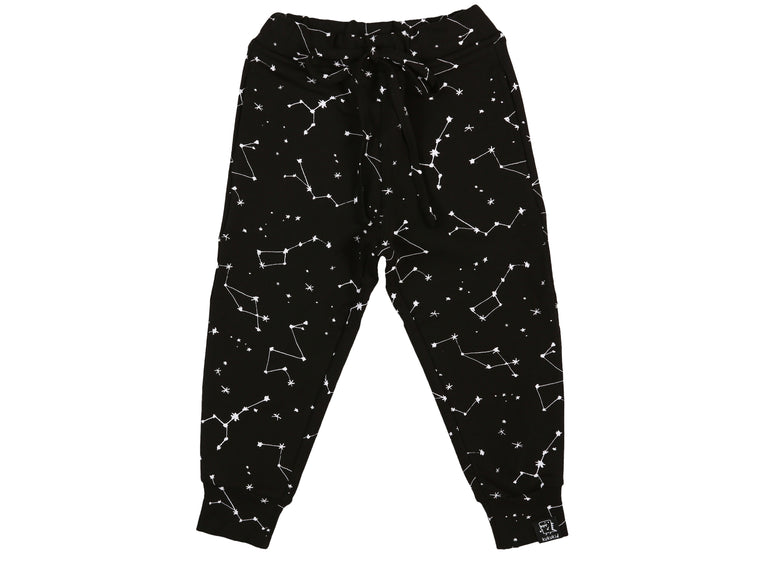 KUKUKID - Pocket Pants / Black Constellation