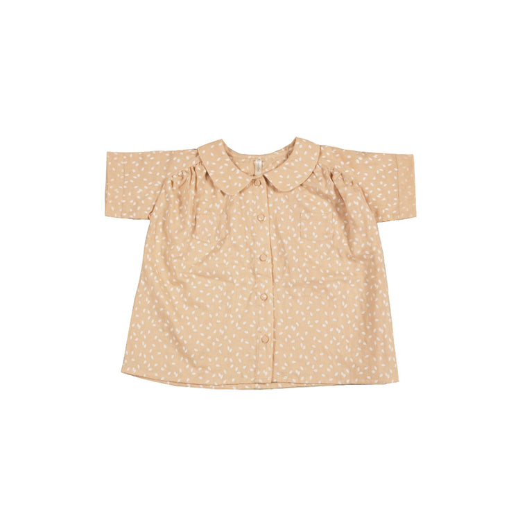 RYLEE + CRU - Scatter Collared Blouse / Blush
