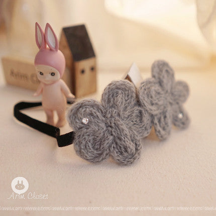 ARIM CLOSET - Gray Flower Babyband (LAST ONE)