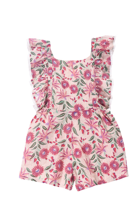LOUISE MISHA - Honolulu Overalls / Flowers (LAST ONE 12M)