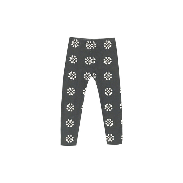RYLEE + CRU - Medallion Knit Legging / Charcoal