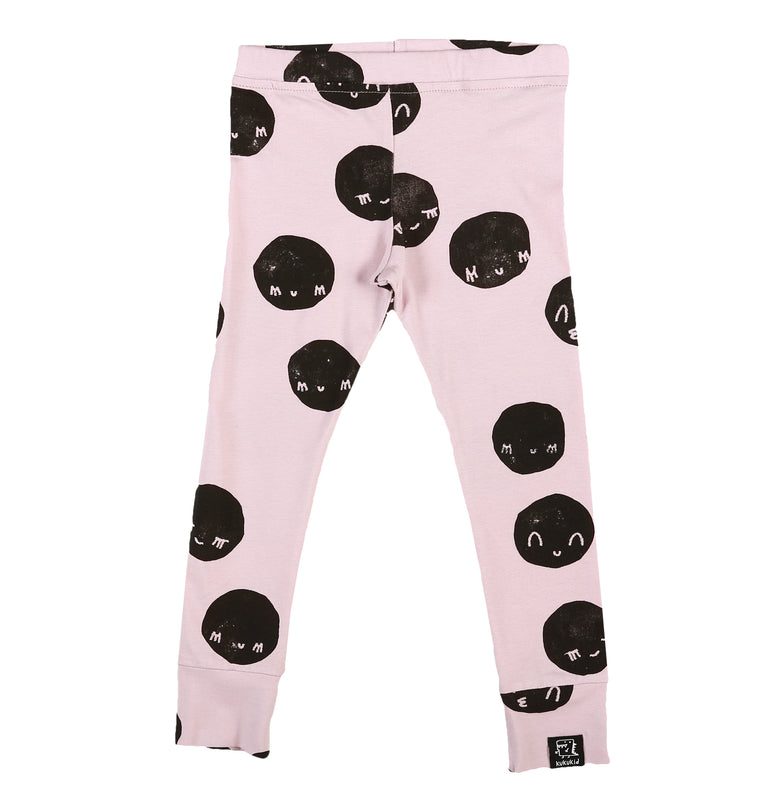 KUKUKID - Leggings / Pale Pink Moon