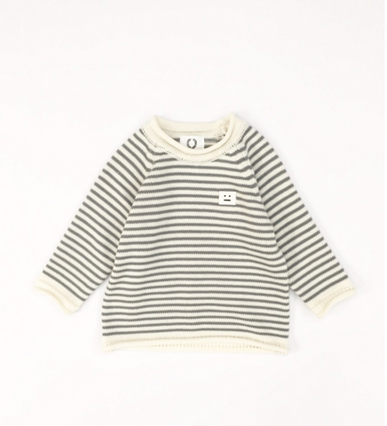NAIVE - Marine Knit Shirt / Gray