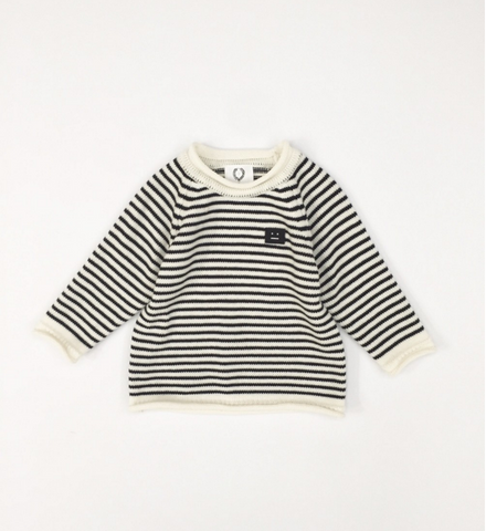 NAIVE - Marine Knit Shirt / Black