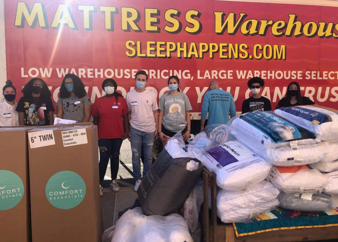 Mattress Warehouse Teams Up with Non-Profit to Help Children in Need                  class=