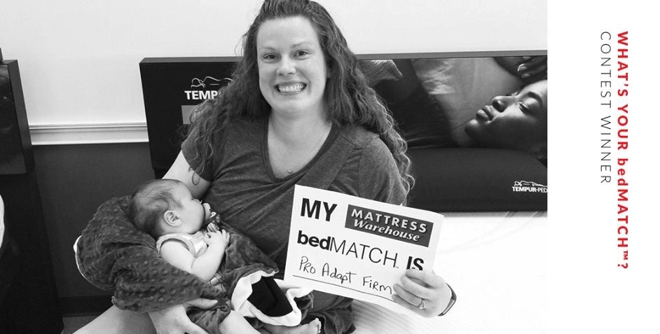 "Local Military Couple Wins The Mattress Warehouse ""What's Your bedMATCHⓇ?"" Giveaway                  class="