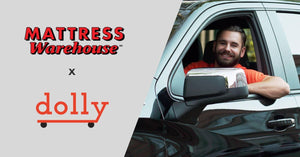 Mattress Warehouse Announces Partnership With Delivery Service Dolly