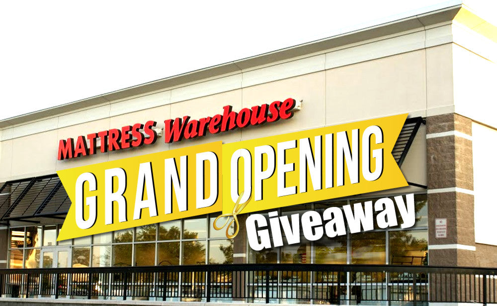 MATTRESS WAREHOUSE ANNOUNCES OPENING OF NEW LOCATION  IN GLASSBORO, NJ                  class=