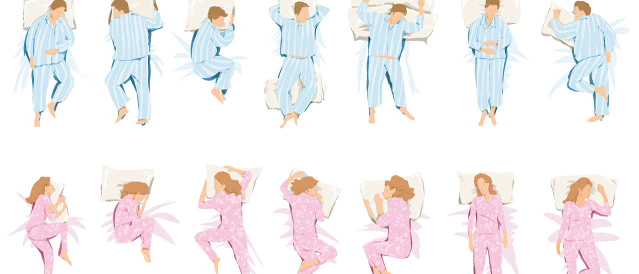 What Your Sleeping Style Says About You                  class=