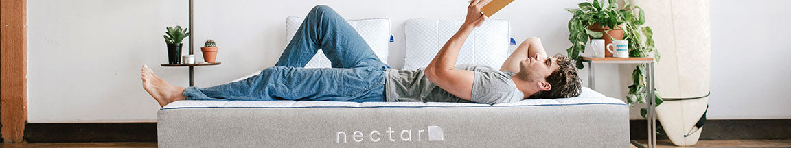 Nectar Lifestyle Image - Man Reading