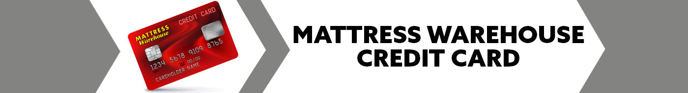 Mattress Warehouse Financing and Credit Card