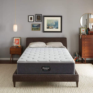 Beautyrest Silver Medium Firm Mattress In Bedroom