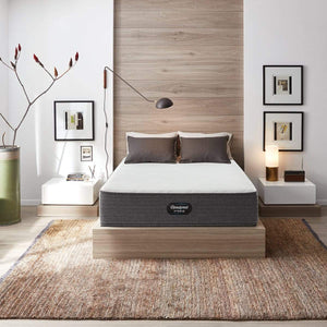 Beautyrest Hybrid Plush Mattress In Bedroom