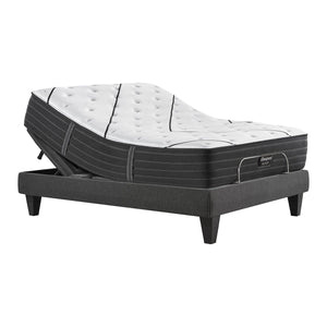 Beautyrest Black Plush Mattress On Adjustable Base