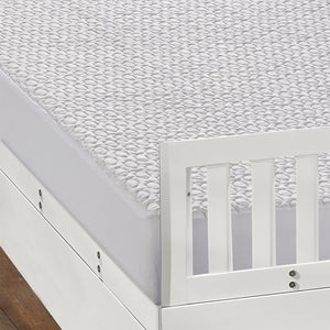 Bedgear 6.0 Dri-Tec Crib Protector On Mattress