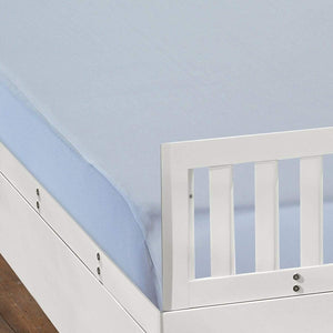 Bedgear Dri-Tec Moisture Wicking Fitted Crib Sheets Blue