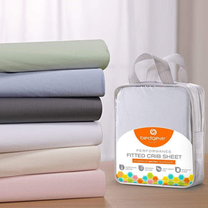 Bedgear Dri-Tec Moisture Wicking Fitted Crib Sheets Color Options