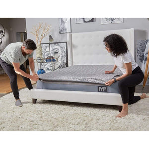 bedGear M3 Mattress With Couple In Room