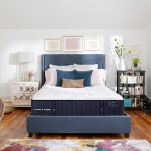 Stearns & Foster Cassatt Luxury Ultra Firm Mattress In Bedroom