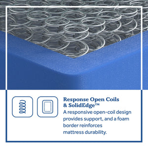 Sealy Clement Soft Pillowtop Mattress Response Open Coil and SolidEdge™ Detail