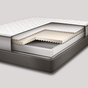 Mattress Warehouse Sealy Snowball Plush Cutaway layers