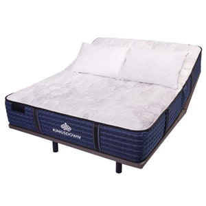 Kingsdown Courtenay Plush Hybrid Mattress On Adjustable Base