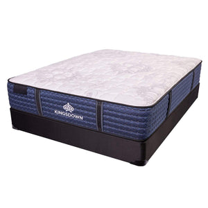 Kingsdown Courtenay Plush Hybrid Mattress On Box Spring