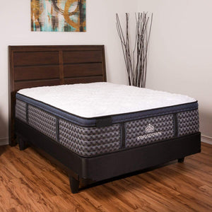 Kingsdown Stratton Ultra Euro Hybrid Mattress In Bedroom