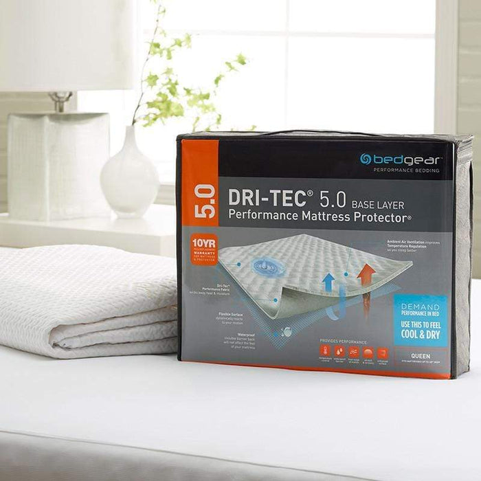 Bedgear Dri-Tec Wicking Waterproof Mattress Protector