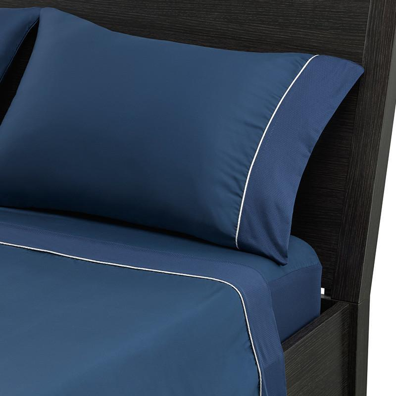 Mattress_Warehouse_BedGear_Hyper-Cotton_Performance_Sheets_Navy