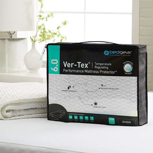 Mattress_Warehouse_BedGear_Ver-Tex_6.0_Cooling_Mattress_Protector_PIP_OnBed