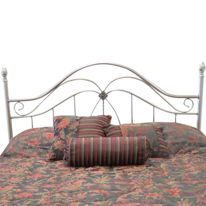 Como Headboard in Antique Pewter by Until Daybreak