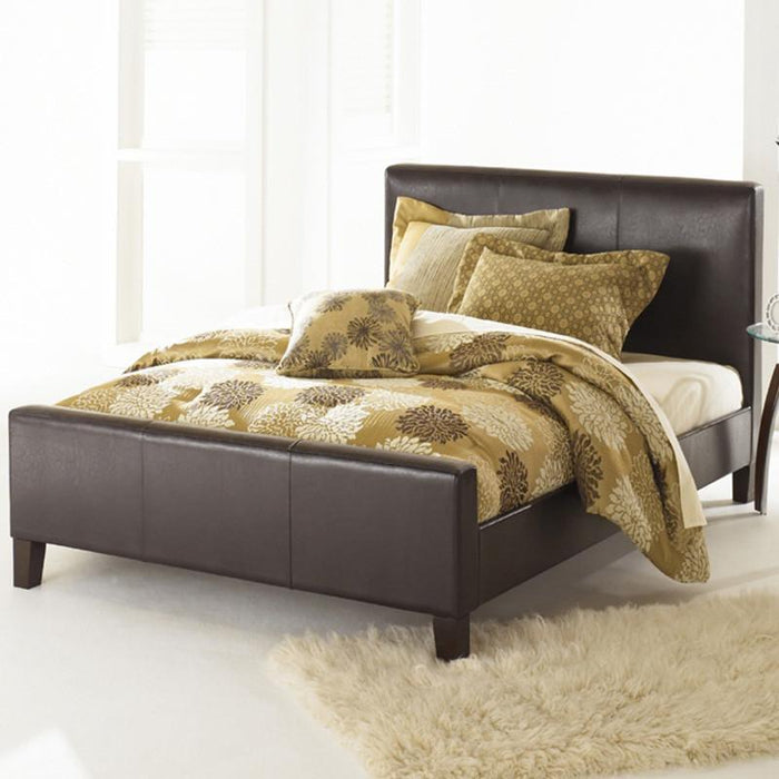 Euro Platform Bed by Fashion Bed with 8 Inch Memory Foam Mattress
