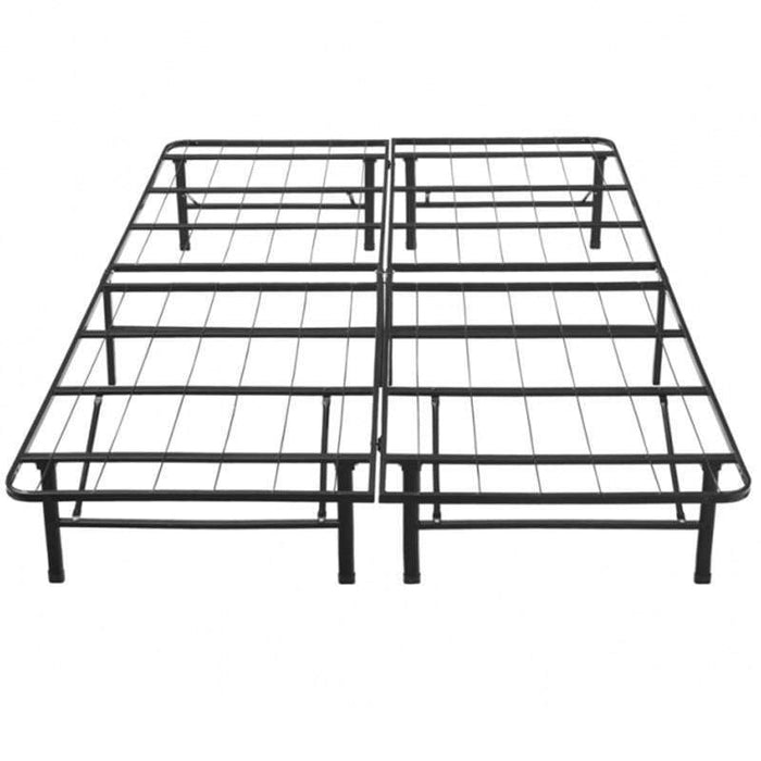 Black Platform Bed Frame by Global