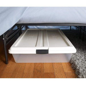Mattress_Warehouse_Global_Black_Platform_Bed_Frame_Storage