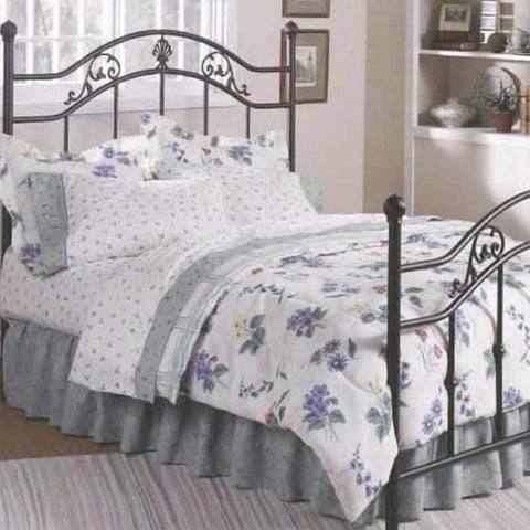 Jefferson Bed with Antique Bronze Finish Mattress Warehouse