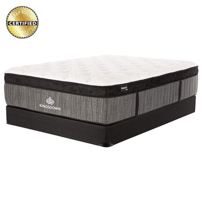 Kingsdown Spring Valley Luxury Firm Euro Top Mattress