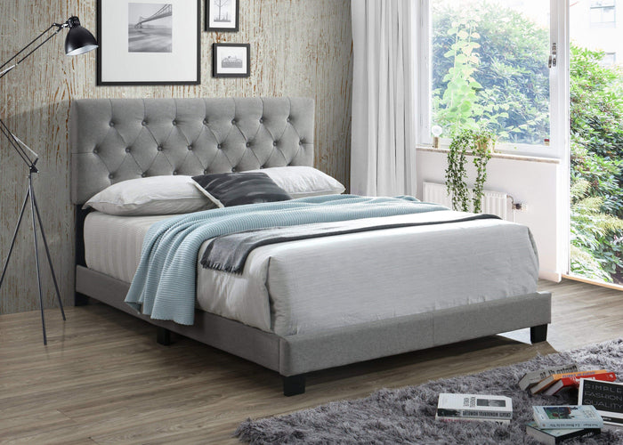 Powell Abby Complete Bed Set with 8 Inch Memory Foam Mattress