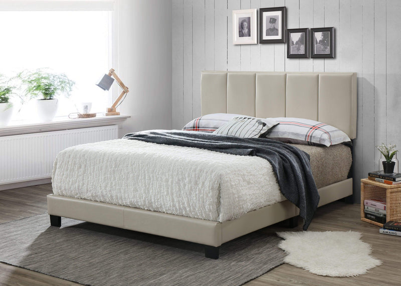 Powell Coy Complete Platform Bed With Memory Foam Mattress