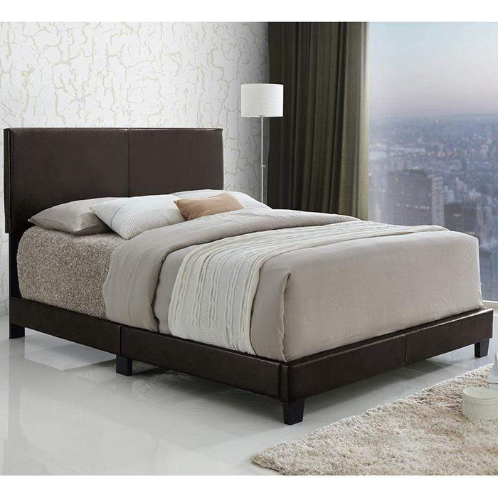 Powell Ryan Complete Platform Bed Set with 8 Inch Memory Foam Mattress