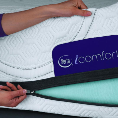 Mattress_Warehouse_Serta_iComfort_Foam_Foresight_Zipper Cover