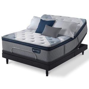 Mattress_Warehouse_Serta_iComfort_Hybrid_Blue_Fusion_1000_Plush_Pillowtop_Adjustable Base