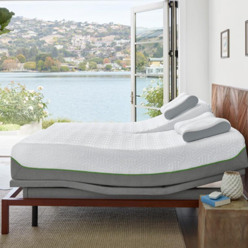 Mattress Warehouse Tempur Flex Supreme Breeze By Pedic M Adjule Base