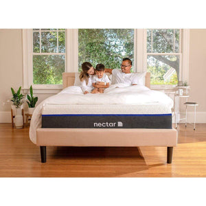 Family on Nectar Lush Mattress