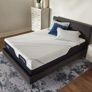 Serta iComfort CF2000 Firm Mattress in Bedroom Overhead