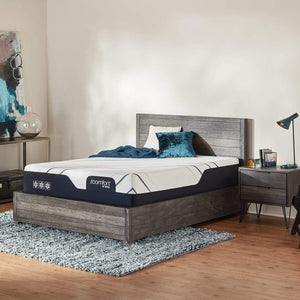Serta iComfort CF3000 Plush Mattress in Bedroom